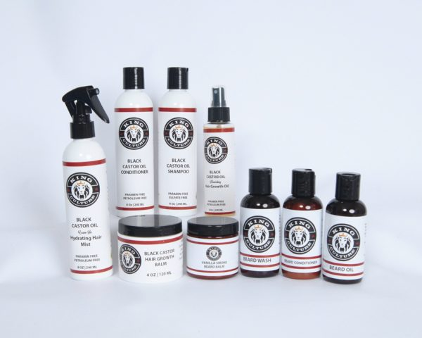 King Culture Hair and Beard Package